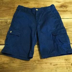 Boys Lucky Brand (12) Blue Cargo Shorts
